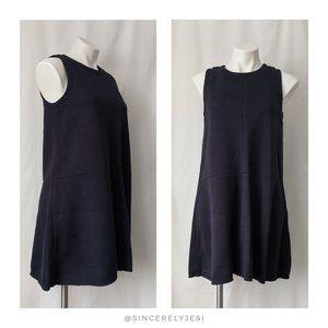 Madewell ▪ Navy Blue Anytime Scuba Dress
